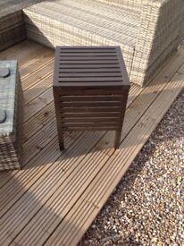 Ikea side table/ storage box