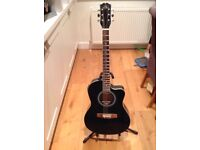 Music Fidelity Electro Acoustic Guitar Good Condition