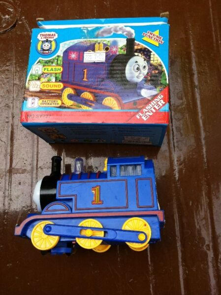 Toy train. In good condition.
