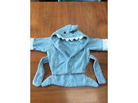 Shark bathrobe