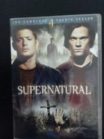 Complete Season 4 SUPERNATURAL on DVD