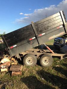 Bumper pull dump trailer 6X10ft - for rent
