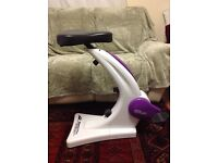 Sit and cycle exercise bike