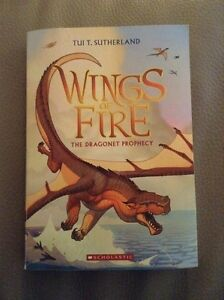 Wings of Fire books 1 & 2 by Tui T. Sutherland London Ontario image 1