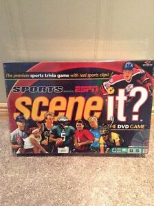 Scene It Sports DVD game - never opened