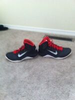 Nike basketball shoes barely have been used