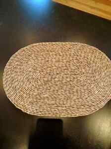 6 Large wicker Hot Plates. Perfect for a table setting  Kitchener / Waterloo Kitchener Area image 1