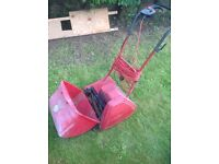 Suffolk punch powered electric mower