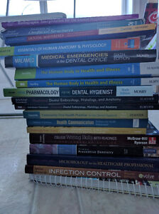 DENTAL HYGIENE TEXTBOOKS - $400 OBO