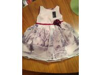 Girls Autograph dress age 4-5 new with tags on