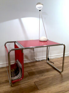 Bauhaus Style Side Table-Table d Appoint Style Bauhaus