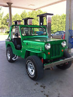 Willy's Jeep CJ3B 1960