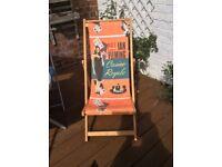 Deck Chair *James Bond Casino Royale* Rare Limited Edition