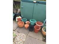 Number of flower pots