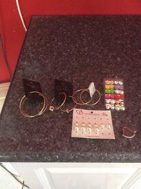 Job lot costrum jewellery