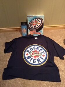 Hockey Night In Canada T-shirt, coffee traveller and DVD game Kitchener / Waterloo Kitchener Area image 1