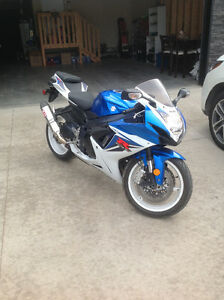 2012 GSXR 600. Amazing condition. Looking for unique trades