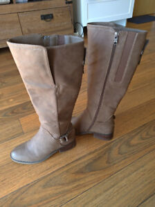 Bottes beiges - Taille 8