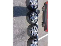 4 Used Alfa Romeo Mito Wheels