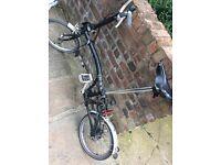 Brompton fold up push bike