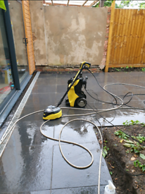 Pressure washing service and gardening / landscaping