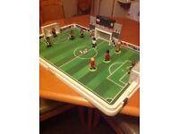 Playmobil football pitch plus score board