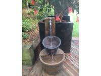 Tap and bucket water feature