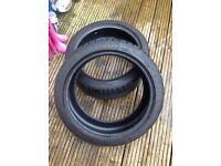 2x Michelin Pilot Sport 2 225/40/18 Run Flat 6.5mm tread XL 88Y BMW