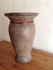 Terracotta Vase - Lovely quality - NEW