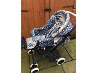 Maclaren Chamade 3 in 1 pram and pushchair from birth to toddler