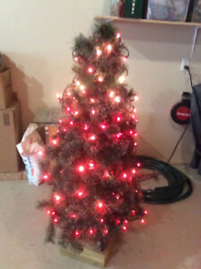 Small Christmas Tree ( with lights)