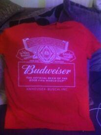 Budweiser t shirt