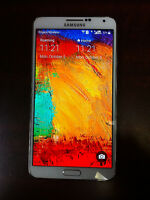 Samsung Note 3 White Unlocked 16GB + 2GB SD card for sale Uniway