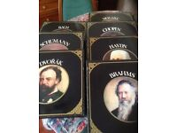 Vintage boxed sets of classical composers