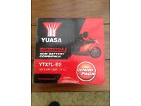 Yusa motorcycle battery brand new