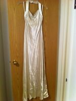 Size small halter gown