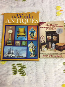 2 Antique Reference Guide Books