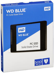 WD Blue 500GB Internal SSD Solid State Drive - SATA 6Gb/s