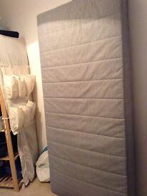 Single soft mattress