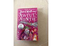 Brand new Awful Auntie book