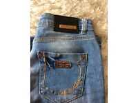 D and g jeans like Armani lady's size 10 Dolce and cabana
