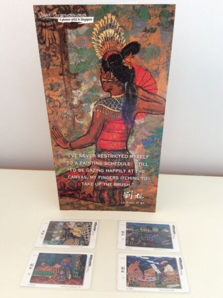 Liu Kang painting series SMRT TransitLink cards