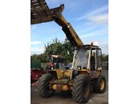JCB farm special loader telehandler telescopic