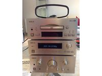 Teac A-H500i integrated stereo amplifier with AM/FM stereo tuner and DVD player