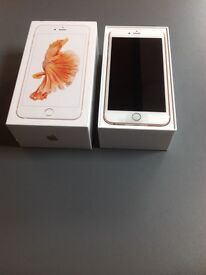 Apple iPhone 6s - 32GB - Unlocked - Rose Gold - 4G - Brand New - Boxed With Receipt
