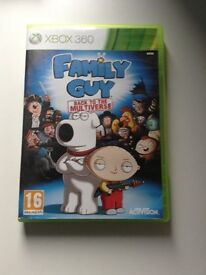 Family Guy backbto the multiverse xbox 360