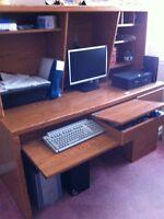 Desk/ chair set 150/$ moving sale