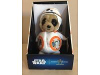 **Brand New In Box Baby Oleg Star Wars BB-8 Meerkat **