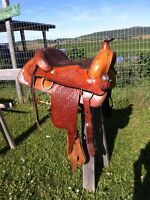 Beautiful Western Show Saddle!