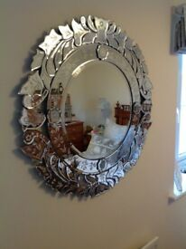 Extremely large Venetian Mirror